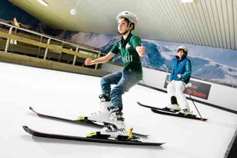 We are Vertigo - 60 Minute Beginner Indoor Ski Lesson for Up to Four - Save 33%