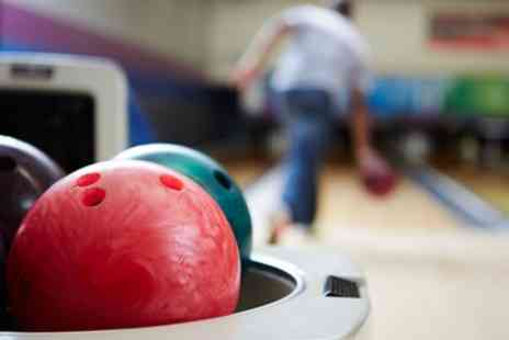 Go Bowling - One Hour Bowling Session with Food and Drink for Two or Four - Save 49%