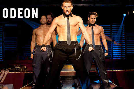 ODEON Cinemas - Ticket to a special screening of Magic Mike with a medium popcorn combo, sweets and a glass of Prosecco at one of 14 participating ODEON Cinemas on the 27th September 2018 only - Save 0%