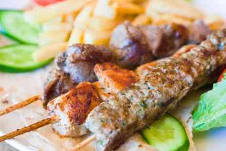 Alexander Express - Choice of Sandwich, Burger with Chips, Pizza, Shish or Shawarma Meal with Drink - Save 46%