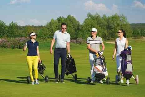 Brent Valley Golf and Fitness Centre - 18 Holes of Golf for Two or Four with Optional English Breakfast - Save 64%