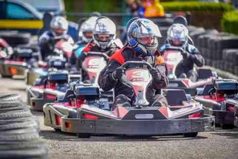 Brooklands Go Karts - Up to 45 Minutes of Karting for Up to Nine - Save 25%
