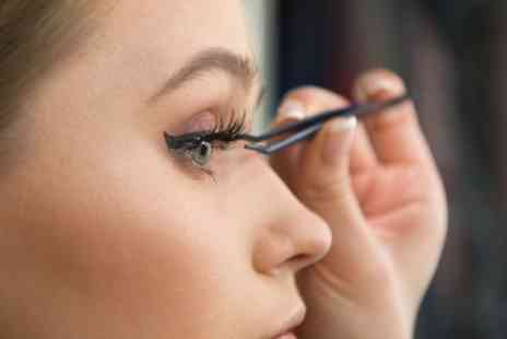 Pure Locks Hair and Beauty - Full Set of Classic Eyelash Extensions - Save 49%