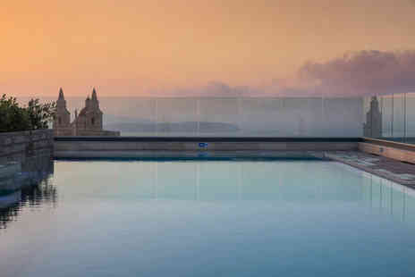 Weekender Breaks - Three night Malta spa stay with a hydrotherapy session, spa access, wine and fruit basket on arrival, return transfers and flights - Save 23%