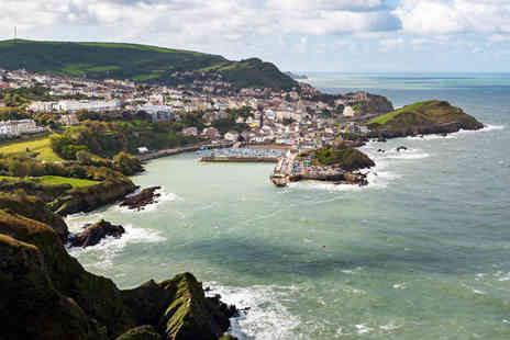 The Royal Britannia Hotel - One, two or three night Ilfracombe, Devon stay for two with wine on arrival and breakfast or with dinner - Save 41%