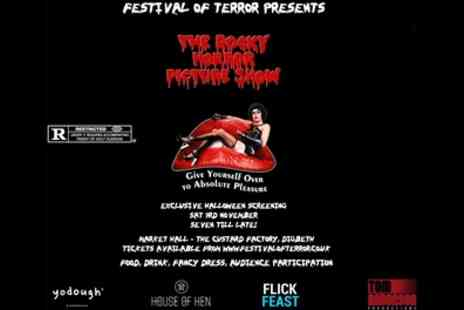 Festival of Terror - One, two, three or four general admission tickets to Rocky Horror Halloween Party on 3 November - Save 50%
