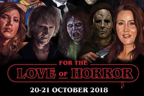 Monopoly Events - Adult or adult and child or family day ticket to For the Love of Horror on 20th or 21st October 2018 - Save 39%