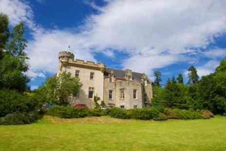Tulloch Castle Hotel - Double Room for Two with Breakfast and Food and Drink Credit - Save 41%