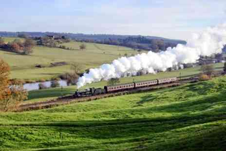 Severn Valley Railway - Scenic steam train trip for 2 with refreshments - Save 43%