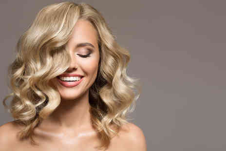 Heaven - Cut and blow dry with either a half head of highlights or full head of colour including a Wella conditioning treatment - Save 68%