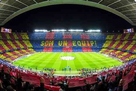 FC Barcelona - Four Star Barcelona Football Experience For Two with Stylish City Stay - Save 0%