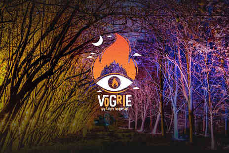 Vogrie Fire & Light Advetnure - Childs, adult or family ticket to the Vogrie Fire and Light Adventure on Monday 24th or Tuesday 25th September - Save 56%