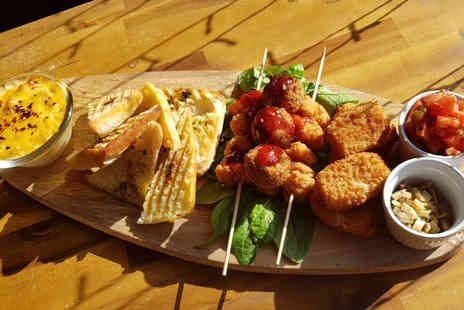Jungle Jazz Cafe - Four dish sharing platter and glass of Prosecco for two - Save 49%