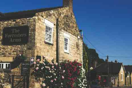 The Forresters Arms - Two night Yorkshire Moors stay for two people with breakfast - Save 62%
