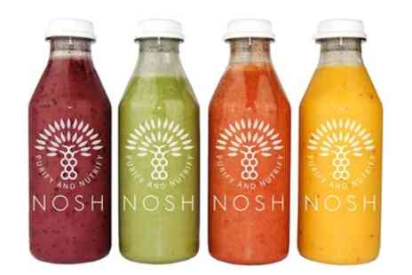 Nosh Detox - Up to £200 Toward Juice Programmes and Diet Plans - Save 37%