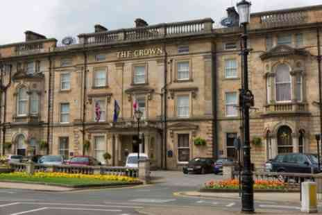 The Crown Hotel - Double Room for Two with Breakfast and Food and Drink Credit - Save 37%