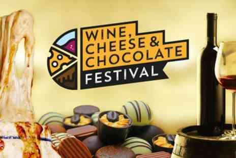 Mega Events - One VIP ticket to Wine, Cheese And Chocolate Festival on 13 October 2018 To 23 February 2019 - Save 57%