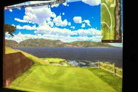 The Aviary Indoor Golf - One Hour Private Golf Lesson or One Hour Golf Simulator Session - Save 57%