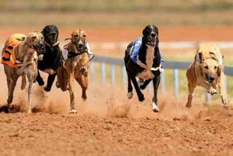 GRA Manchester - Greyhound Racing Admission with Racecard, Burger and Drink for Up to Eight - Save 71%
