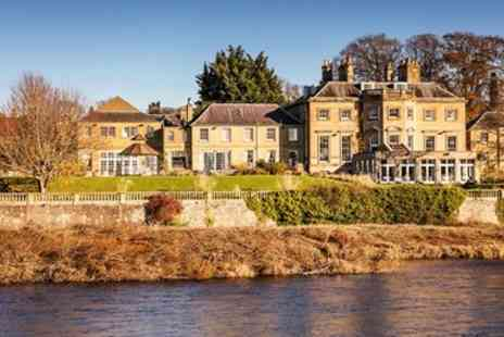 Ednam House Hotel - Scottish Borders stay with meals & prosecco - Save 0%