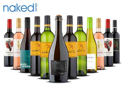 Naked Wines - Six bottle wine hamper - Save 62%