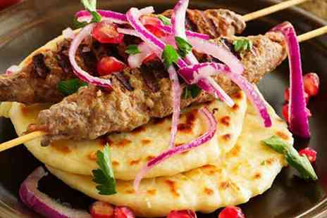 Caspian Turkish Cuisine - Three course Turkish dining for two - Save 65%