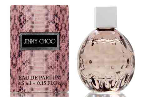 Groupon Goods Global GmbH - Jimmy Choo Womens 4.5ml Eau de Parfum Two Pack - Save 0%