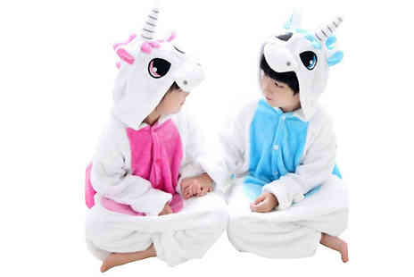 Best mall ever - Kids Magical Unicorn Onesie Available in 2 Colours - Save 87%