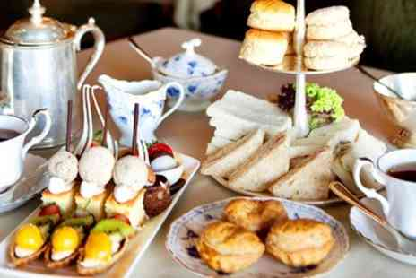 Mere Court Hotel & Conference Centre - Cheshire country house afternoon tea for 2 with bubbly - Save 0%