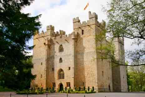 Langley Castle Hotel - Magnificent Northumberland castle stay including meals - Save 40%