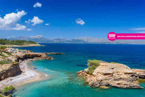 Bargain Late Holidays - Three, five or seven night all inclusive Mallorca break with return flights - Save 49%