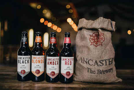 Lancaster Brewery - Brewery tour for two people with handmade pork pies, pickles and up to three pints each - Save 67%