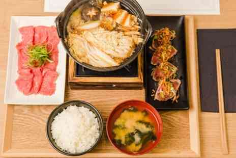 Mitsuryu - Main with Side and Glass of Wine for Up to Six - Save 47%