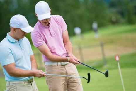 Leen Valley Golf Club - One Hour Toptracer Golf Session for Up to Three - Save 68%