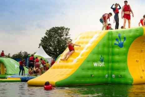 Cotswold Country Park & Beach - Aqua Park Entry with Wetsuit Hire for One, Two or Four - Save 38%