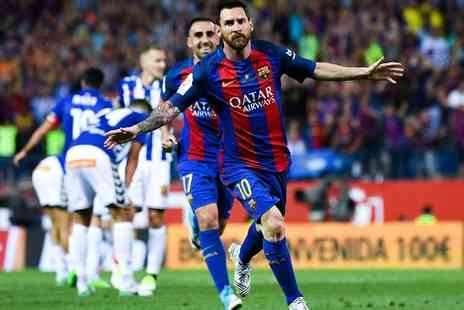 Just Book Sports - Overnight Barcelona stay and FC Barcelona football match ticket - Save 0%