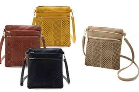 Groupon Goods Global GmbH - One or Two Womens Three Zip Cross Body Handbags - Save 83%