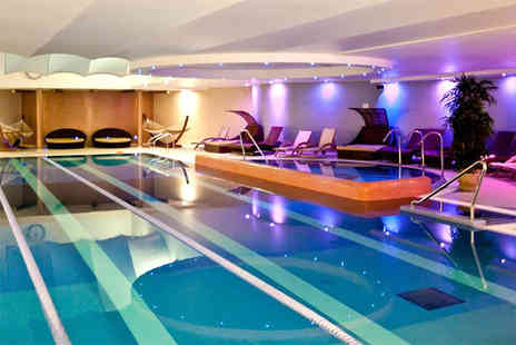 Bannatyne Spa - Deluxe ELEMIS spa package for two with three treatments each, facility access, a £5 voucher per person and spa product to take home - Save 0%