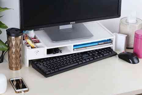 Groupon Goods Global GmbH - Computer Monitor Stand - Save 0%