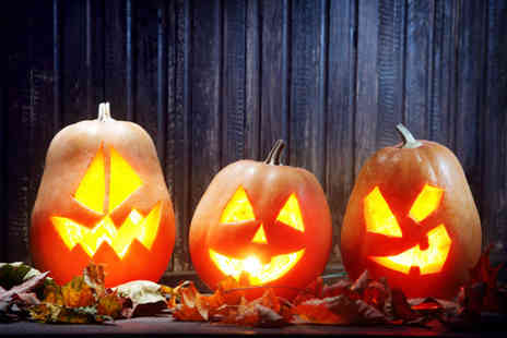 Lower Drayton Farm - Adult ticket to Frights on the Farm at half term with spooky maize maze, pumpkin carving and more - Save 38%