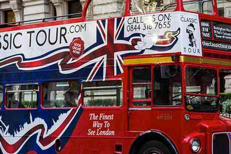 Time Tours - London Open Top Sightseeing Tour, A Favourite Half Term Treat for the Whole Family - Save 35%