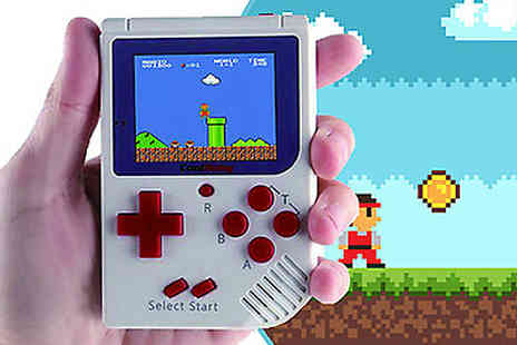 Buy Something - 8 Bit Classic Handheld Games Console - Save 61%