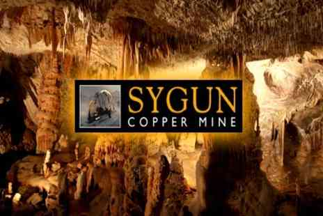 Sygun Copper Mine - Day Out For Two Adults at the Sygun Copper Mine - Save 60%