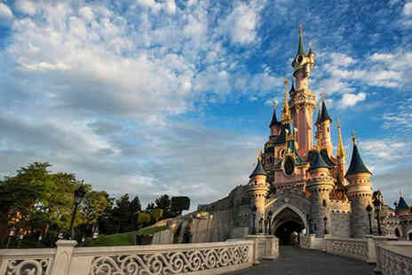 Super Escapes Travel - Two night Disneyland Paris getaway with return flights - Save 46%