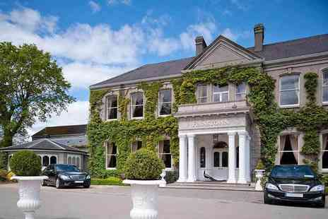 Finnstown Castle Hotel - Overnight Dublin stay with breakfast, leisure access, dining credit and late check out - Save 57%