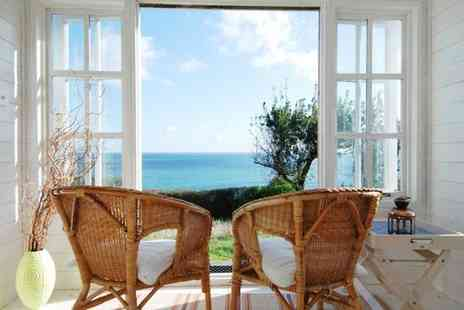 Trevalsa Court Hotel - Three Star Modern Country House Hotel Stay For Two Offering Sea Views - Save 48%