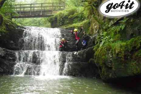 Go 4 It Activities Wales - Half Day Gorge Walking or Coasteering Experience - Save 60%