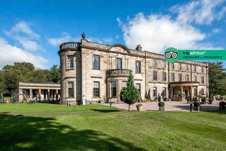 Beamish Hall Country House Hotel - Overnight stay for two people with breakfast, brewery tour and late check out or include a three course dinner each - Save 48%