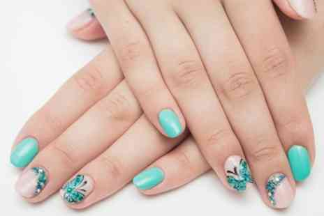 Snap Beauty - Gel Manicure, Pedicure or Both - Save 48%