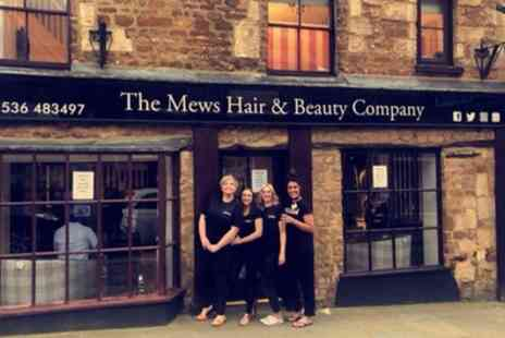 The Mews Hair and Beauty Company - Cut and Blow Dry with Conditioning, Colour or Highlights - Save 44%